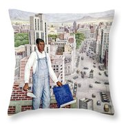 Ogorman: City Of Mexico Throw Pillow