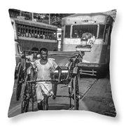 Oh Calcutta Monochrome Throw Pillow