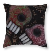 Oh El Amor Throw Pillow by Abril Andrade Griffith