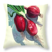 Oh I Like Onions Throw Pillow