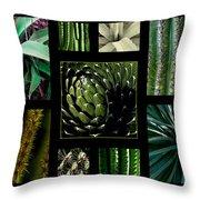 Oh My Cacti Throw Pillow