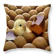 Oh No   It's Easter Throw Pillow