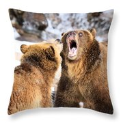 Oh No You Didn't Throw Pillow