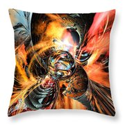 Oh Wow Fx  Throw Pillow