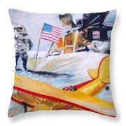 Ohio Aviation Throw Pillow