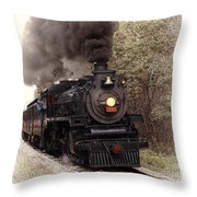 Ohio Central Throw Pillow