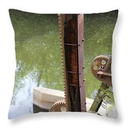 Ohio Erie Canal Throw Pillow