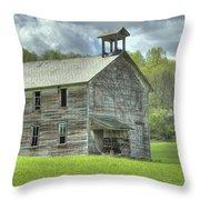 Ohio Schoolhouse Throw Pillow