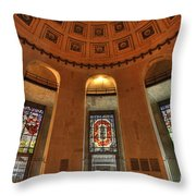 Ohio Stadium Throw Pillow
