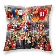 Ohio State National Champions 2015 Throw Pillow
