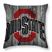 Ohio State University Throw Pillow