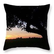 Ohio Sunrise 2 Throw Pillow
