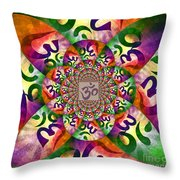 Ohm Throw Pillow