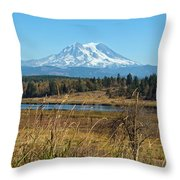 Ohop Valley Of Layers Throw Pillow