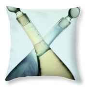 Oil And Vinegar Abstract Throw Pillow
