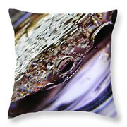 Oil And Water 29 Throw Pillow