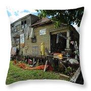 Oj House 4 Throw Pillow