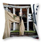 Oj House Detail 4 Throw Pillow