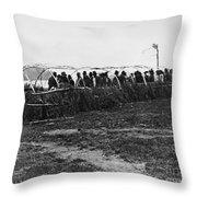 Ojibwa Lodge, 1909 Throw Pillow