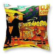 O.k. Corral Throw Pillow