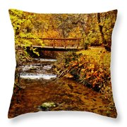 Okanagan Autumn Throw Pillow