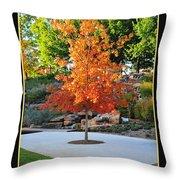 Oklahoma Fall Throw Pillow