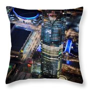 Oks001-25 Throw Pillow