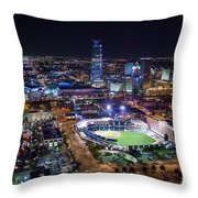 Oks00511 Throw Pillow by Cooper Ross