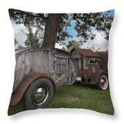 Ol Marais River Run  Throw Pillow