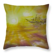 Ol' Ship Of Zion Throw Pillow