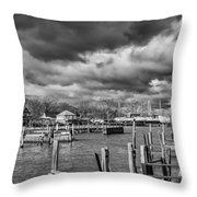 Olcott On A Winter Day Throw Pillow