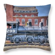 Old 299 Throw Pillow