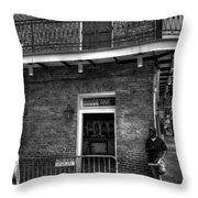 Old Absinthe House Throw Pillow
