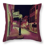 Old Absinthe House New Orleans Throw Pillow