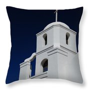 Old Adobe Mission Scottsdale Throw Pillow