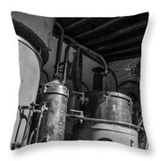 Old Alambic Throw Pillow