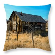 Old And Forgotten Throw Pillow by Robert Bales