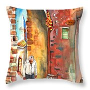 Old And Lonely In Italy 04 Throw Pillow