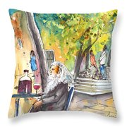 Old And Lonely In Italy 05 Throw Pillow