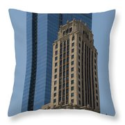 Old And New Architecture Throw Pillow