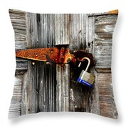 Old And New By Diana Sainz Throw Pillow