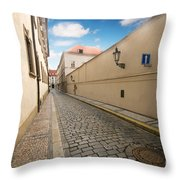 Old Architecture In Prague Throw Pillow
