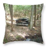 Old Auto Throw Pillow