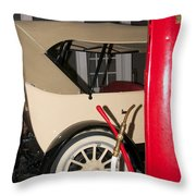 Old Automobile Throw Pillow
