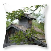 Old Barn 11 Throw Pillow