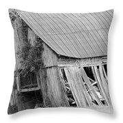 Old Barn 5 Throw Pillow