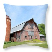 Old Barn 8008 Throw Pillow