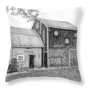 Old Barn Throw Pillow
