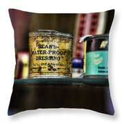 Old Bean Throw Pillow