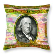 Old Ben Hundred Throw Pillow